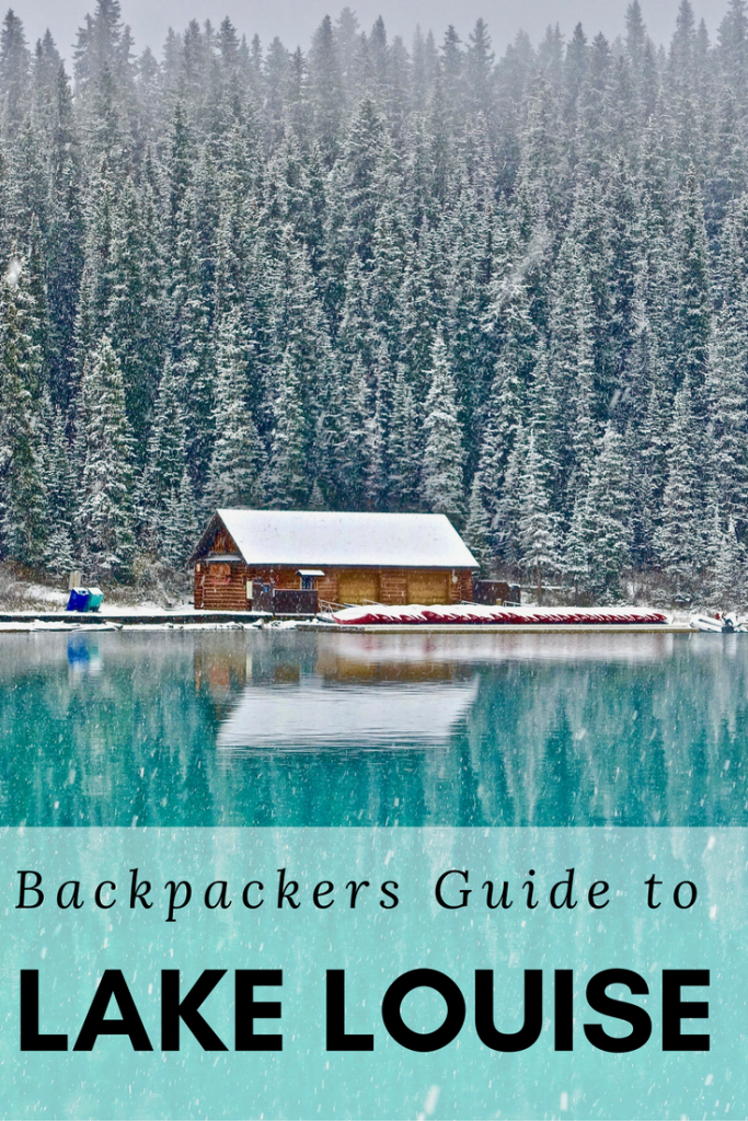 Lake Louise Guide for Backpackers