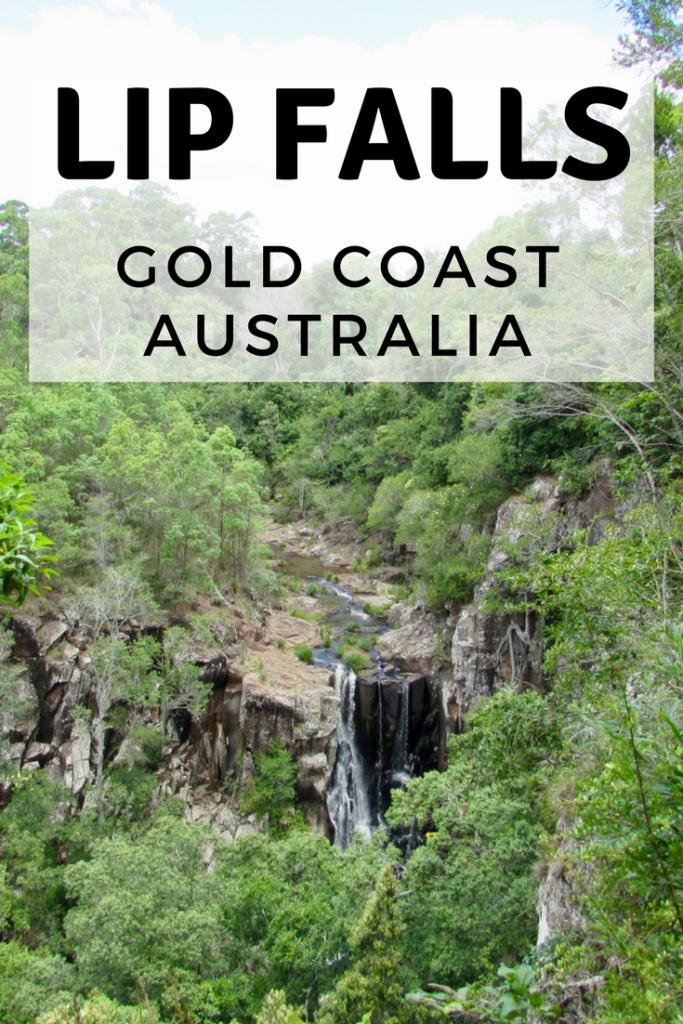 Lip Falls Beechmont Gold Coast Australia