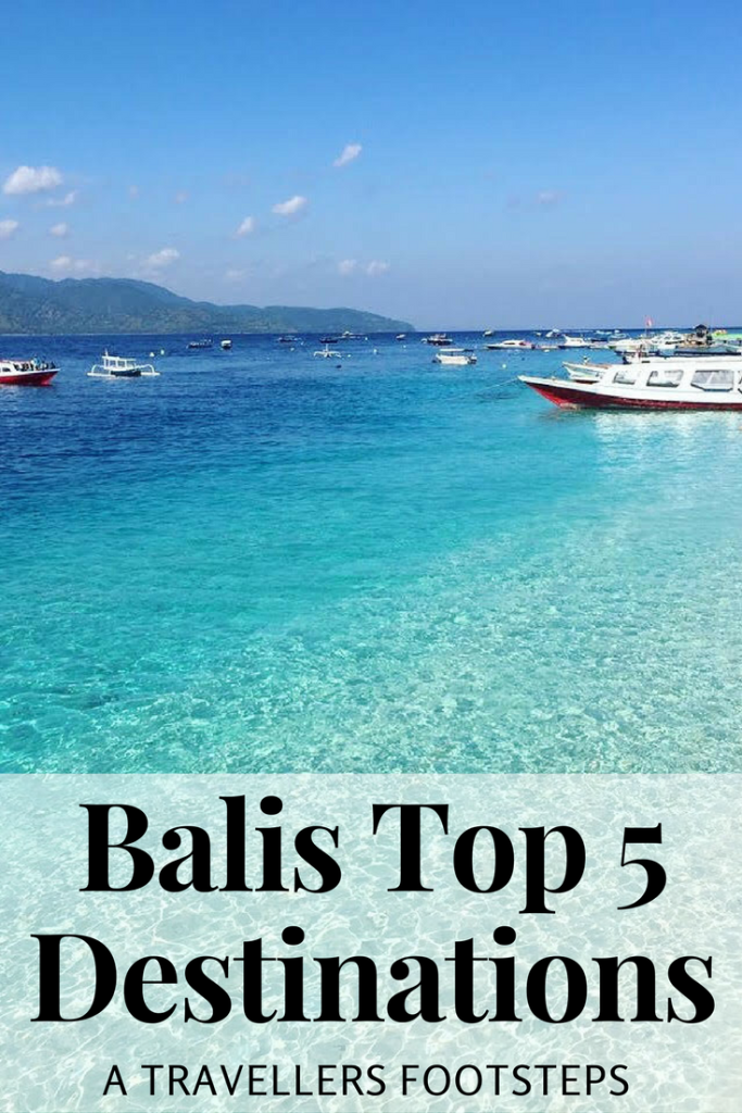 Bali Top Destinations
