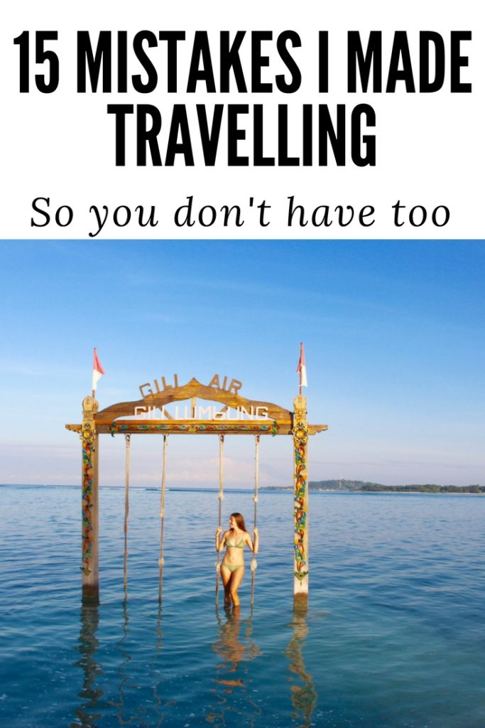 Travel mistakes I made so you don't have to / Travel Tips / Tips for travelling solo / tips for flying / tips for savings for travel / tips for travelling on a budget / travel tips and travel tricks / travel budget / travel hacks / international travel tips / packing tips / budget travel tips /