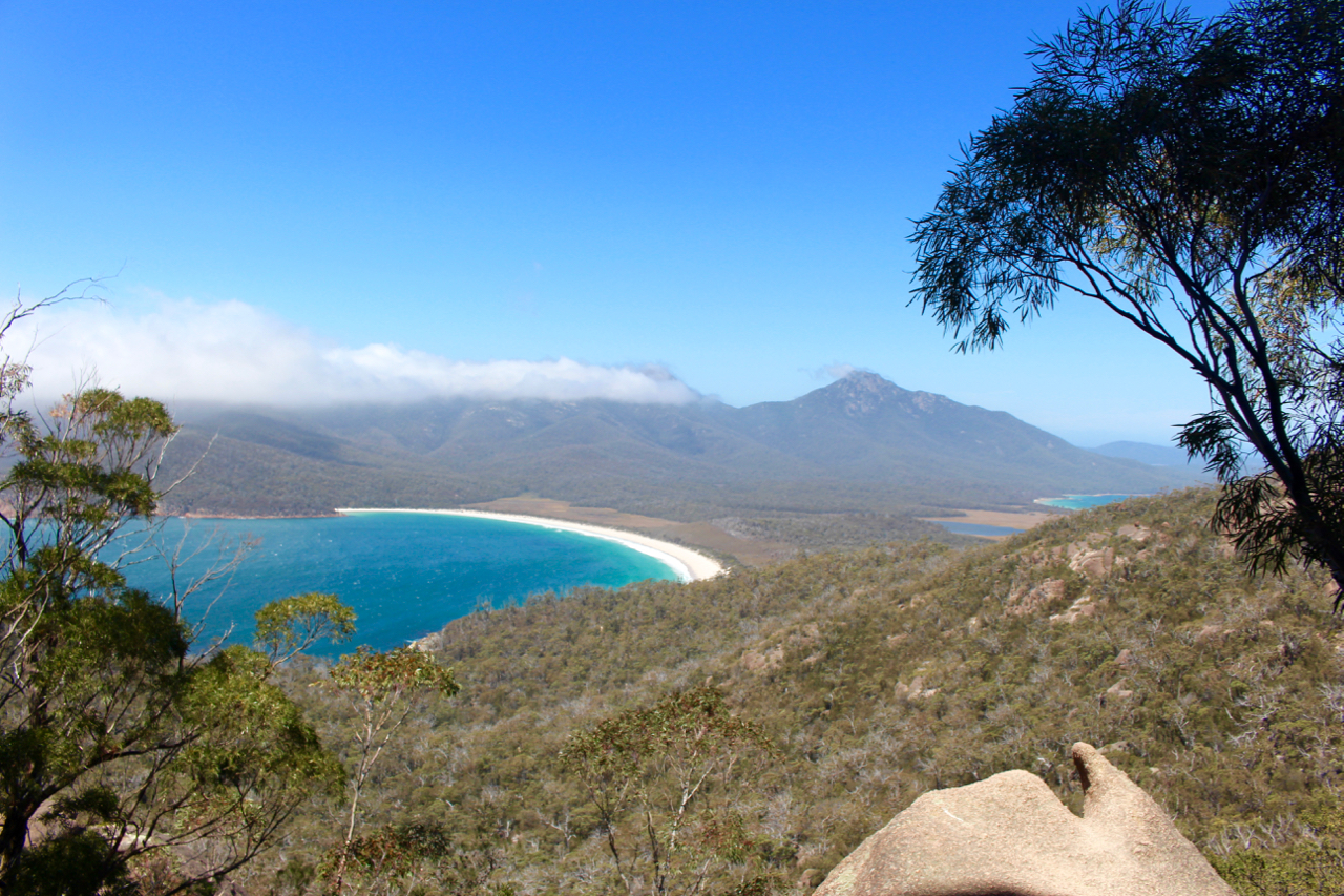Wineglass Bay Lookout track