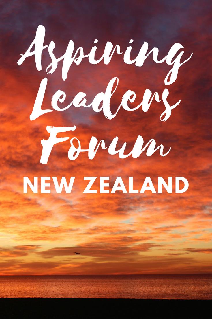 Aspiring Leaders Forum New Zealand