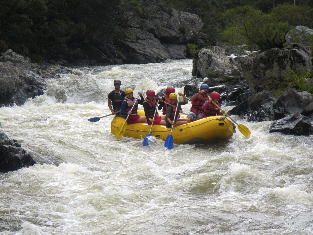 White Water Rafting on the Nymboida River