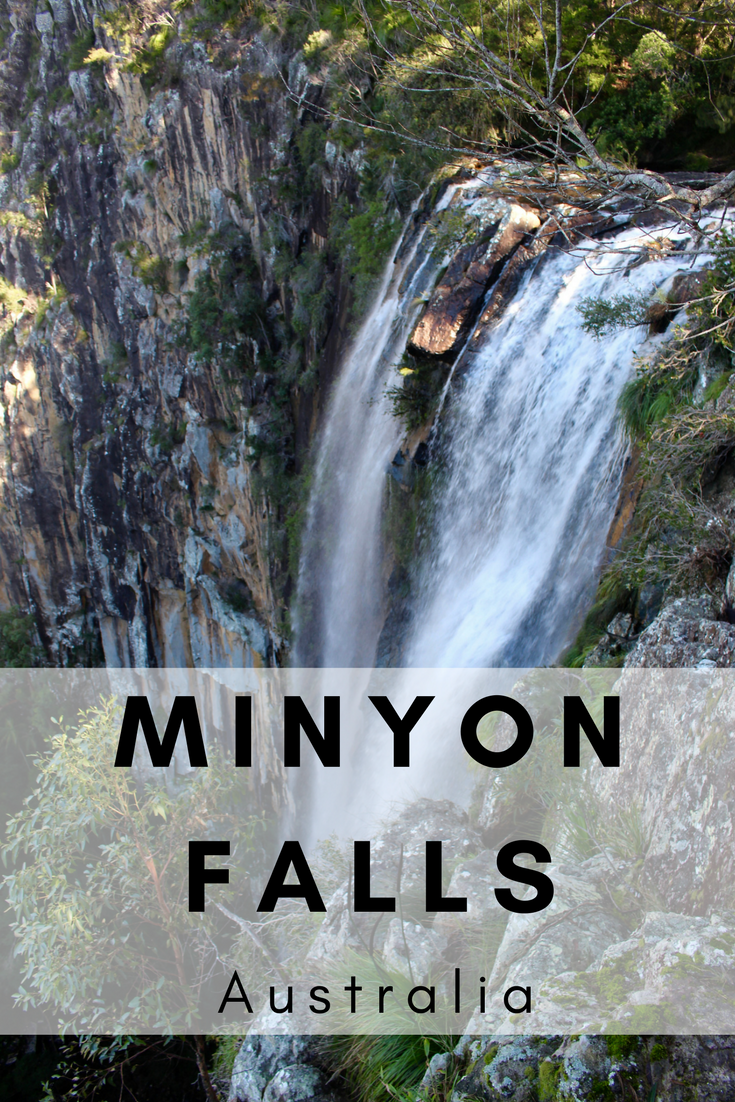 Hiking Minyon Falls NSW Australia