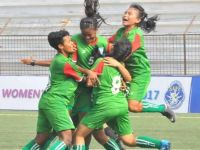 Girls In Bangladesh Defeating India In South Asian U-15 Football