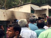 5 Killed As Lightning Sets Gas Pipeline On Fire In Sylhet