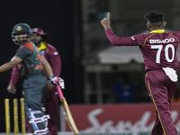 West Indies Beat Bangladesh By 3 Runs in 2nd One-Day International