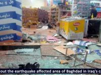 Strong earthquake at Iraq-Iran border