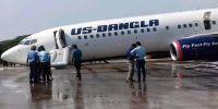 US-Bangla Plane (Boeing 737) Makes Emergency Landing at Chattogram Airport