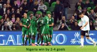 Argentina is Slippery Against Nigeria
