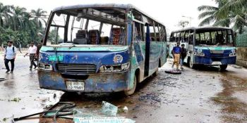 Airport Road Crash: RAB Has Arrested 2 Bus Drivers and 2 Helpers