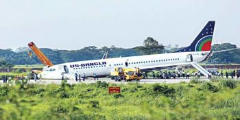 The Pilot of the US-Bangla Airlines Has to Save 171 Lives as Makes an Emergency Landing