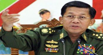 Myanmar's army chief said: Rohingyas are not residents of Myanmar