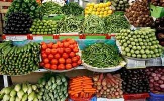 Due to excessive rainfall and flood due to the vegetable market prices are on the rise.