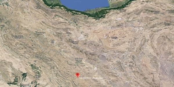 An aircraft crashed with 66 people on board in Iran's central mountainous region.
