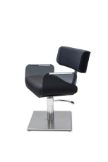 Aubade frisørstol, 5-armet fot, Eco