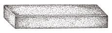 Rengjøringssten 100x25x14 mm