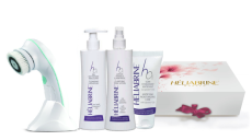 Heliabrine Ansiktsbørste m produkter
