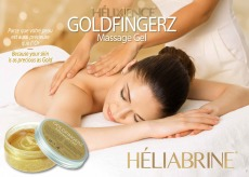 Heliabrine plakat Gold Massage