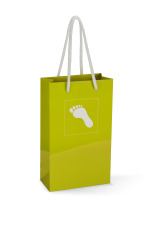 Gavepose papir m/fot, Grønn