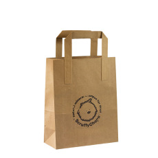 Brown paper bag 180x210 mm