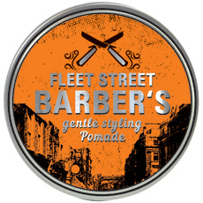 Fleet Street Barbers Gentle Styling Pomade 100 ml