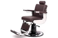 Heros Barberstol m/hydr.pumpe og fotplate