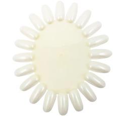 Shellac plastnegler natural