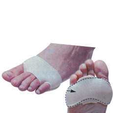Comfort metatarsal pad
