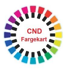 Fargekart CND