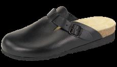 Sandal hel tå sort