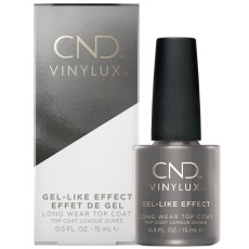 Vinylux Top Coat Gel-Like Effect, 15 ml