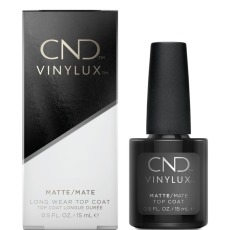 Vinylux Matte Top Coat, 15 ml