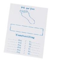 Timekort fot 200 stk