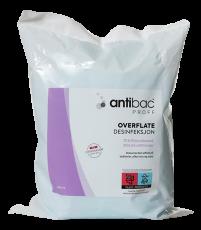 Antibac Overflatekluter 75% refill - 300 stk