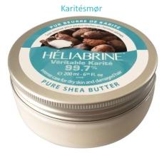 Heliabrine Shea Butter, Natural 99,7% 200ml