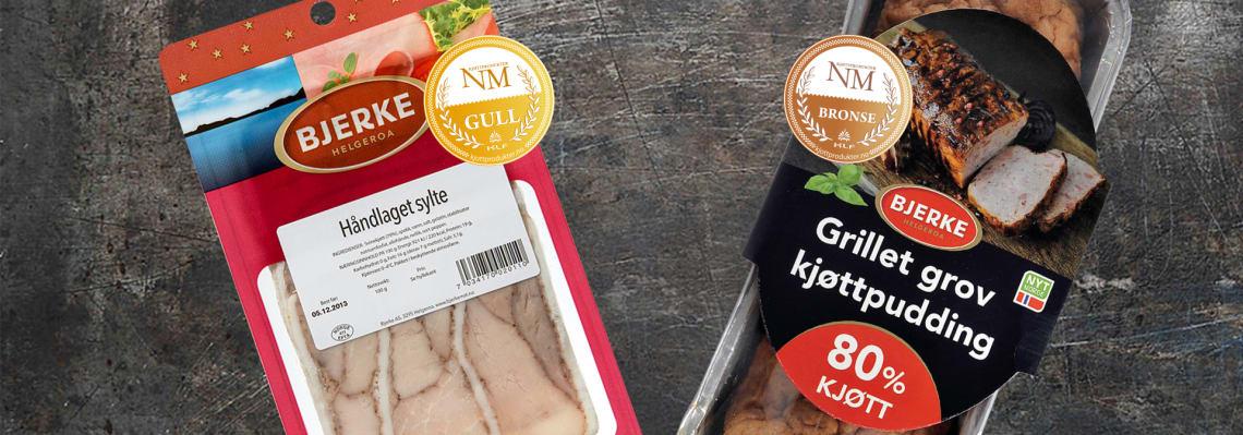Nye medaljer i NM i kjøttprodukter