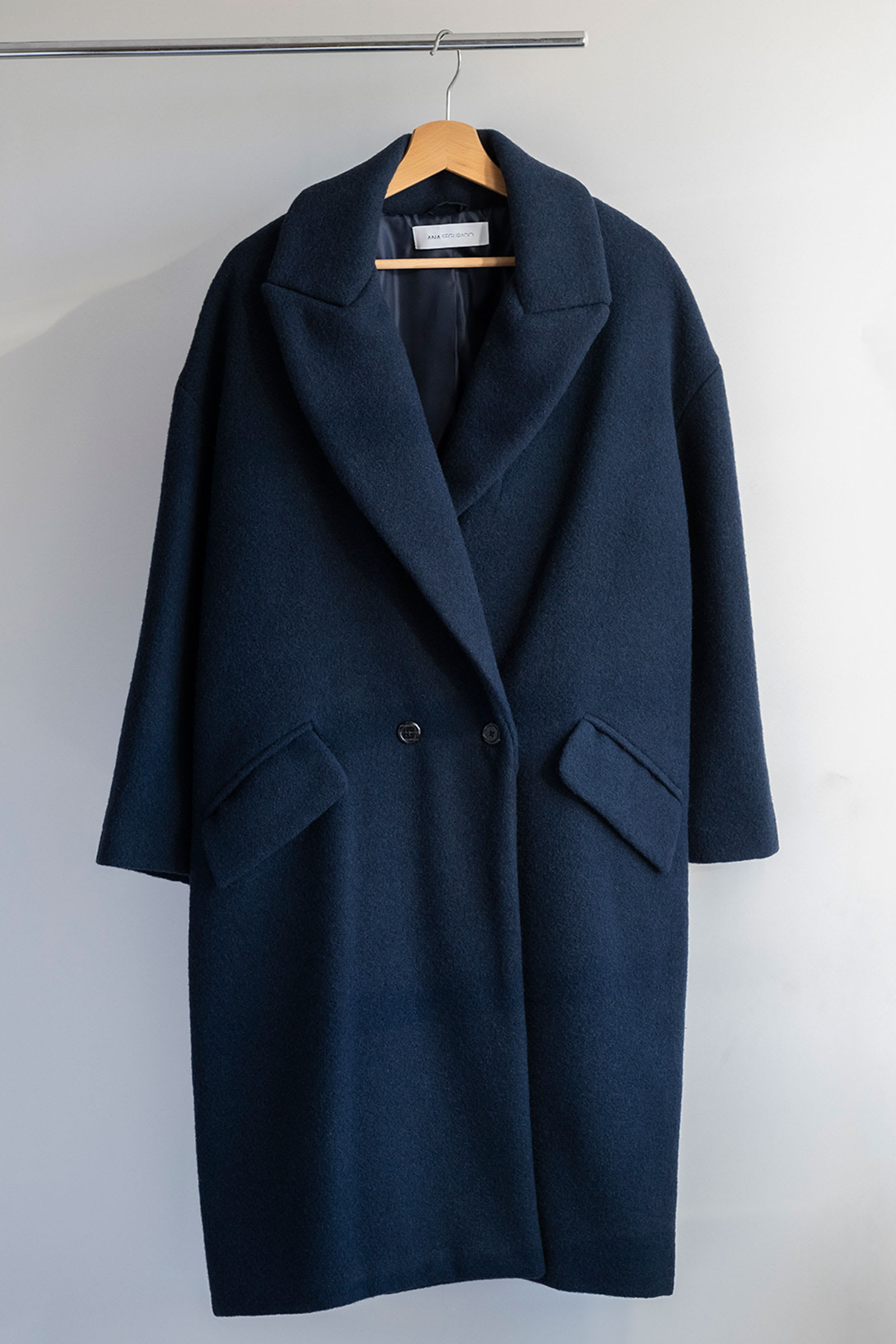Sumiko Ecowool Coat Blue