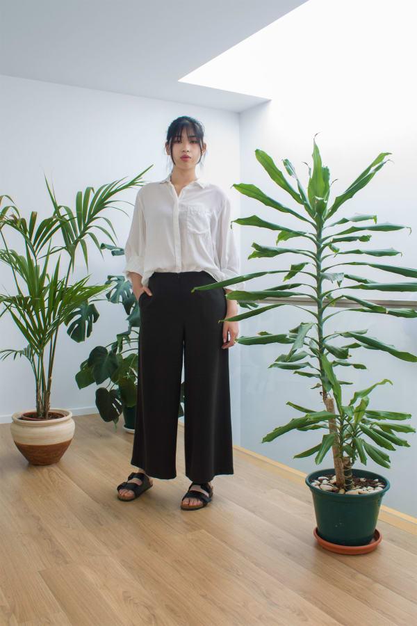 Poro Wide-leg Trousers
