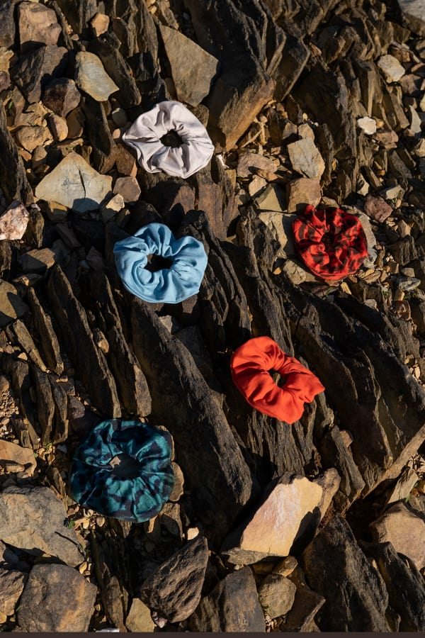 Hair Scrunchies Zero Waste