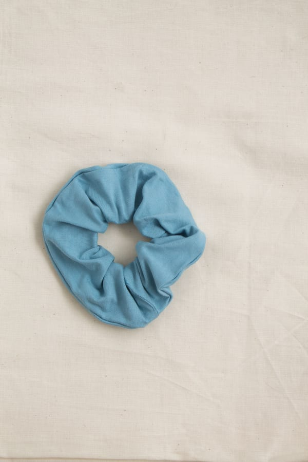 Hair Scrunchies Zero Waste Sky-Blue