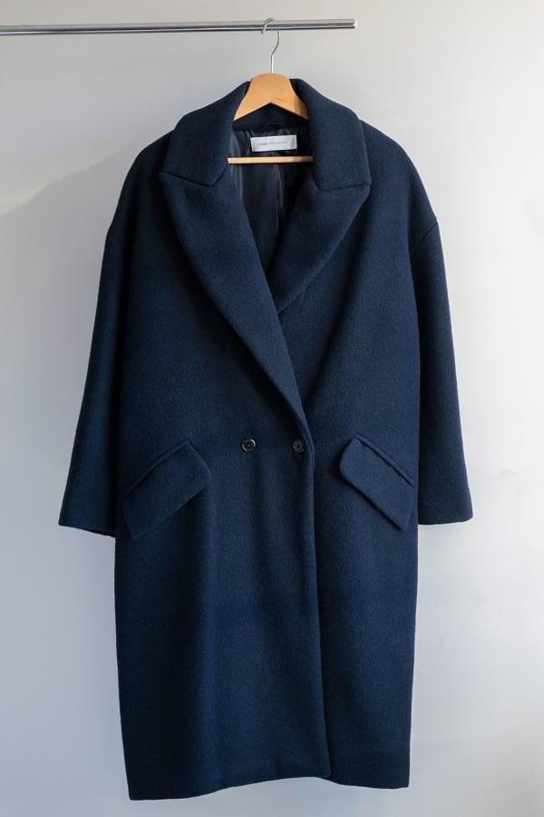 Sumiko Ecowool Coat Blue