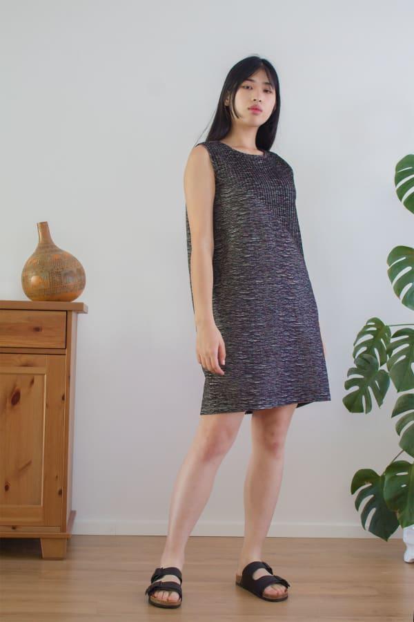 Stella Pleated-Detail Dress