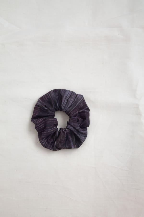 Printed Hair Scrunchies Zero Waste Print-Bronze