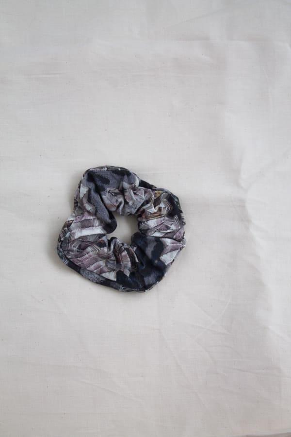 Printed Hair Scrunchies Zero Waste Print-Marble