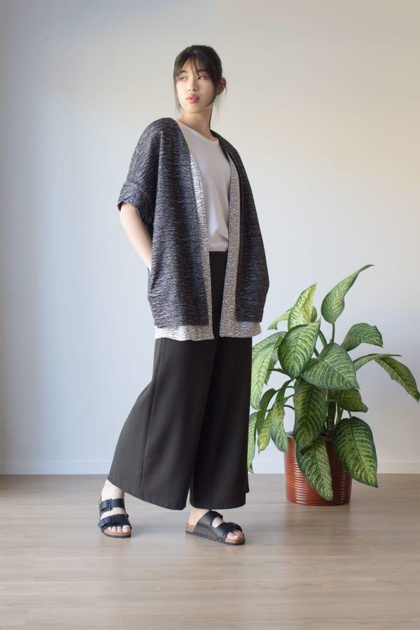 Graphic Kimono Jacket