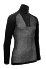 Arctic Zip Polo Combatshirt Wool