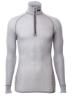 Wool Thermo Light Zip-polo 3/4 neck