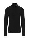 Arctic Zip Polo Shirt w/thumbfingergrip