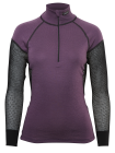 Lady Wool Thermo Zip Polo